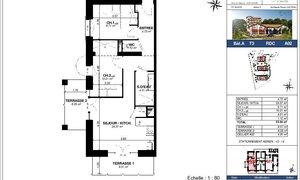 Appartement 3pièces 54m² Urrugne