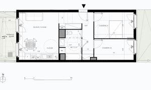 Appartement 3pièces 58m² Serris