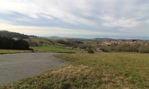 Terrain 1319m² Montchal