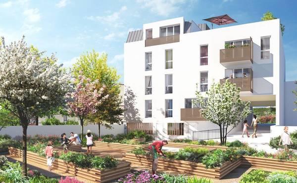 Programme immobilier AR\'HÔME à Alfortville : 15 biens neufs - 345 ...