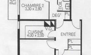 Appartement 4pièces 76m² Paris 14e