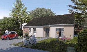 Maison neuve 4pièces 90m² Bosc-le-Hard