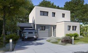 Maison neuve 6pièces 124m² Bosc-Guérard-Saint-Adrien