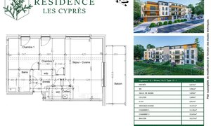 Appartement 3pièces 67m² Aumetz