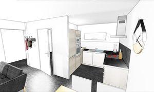 Appartement 2pièces 40m² Rochefort
