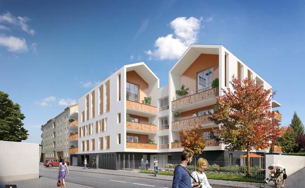 Programme immobilier L\'ATELIER REPUBLIQUE à Décines-Charpieu : 13 ...