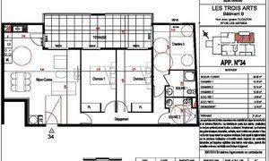 Appartement 4pièces 91m² Les Abymes
