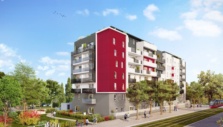 Programme immobilier maestro dijon 10 biens neufs for Appartement atypique dijon louer