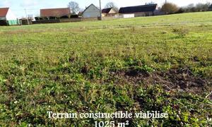 Terrain 1025m² Courville-sur-Eure