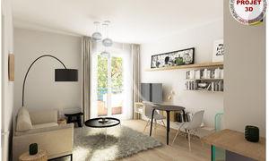 Appartement 2pièces 43m² Rouffiac-Tolosan