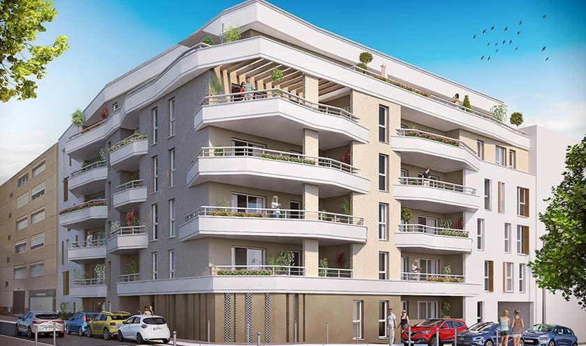 Programme immobilier patio julien à toulon biens neufs