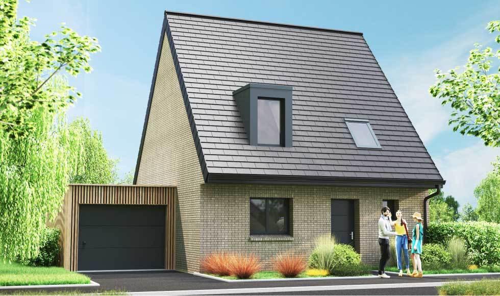 Frelinghem programme immobilier le clos du manoir à frelinghien - 250 000 à 275