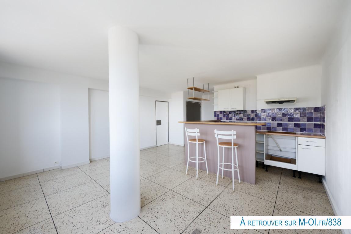 Appartement 2pièces 47m² Marseille 15e