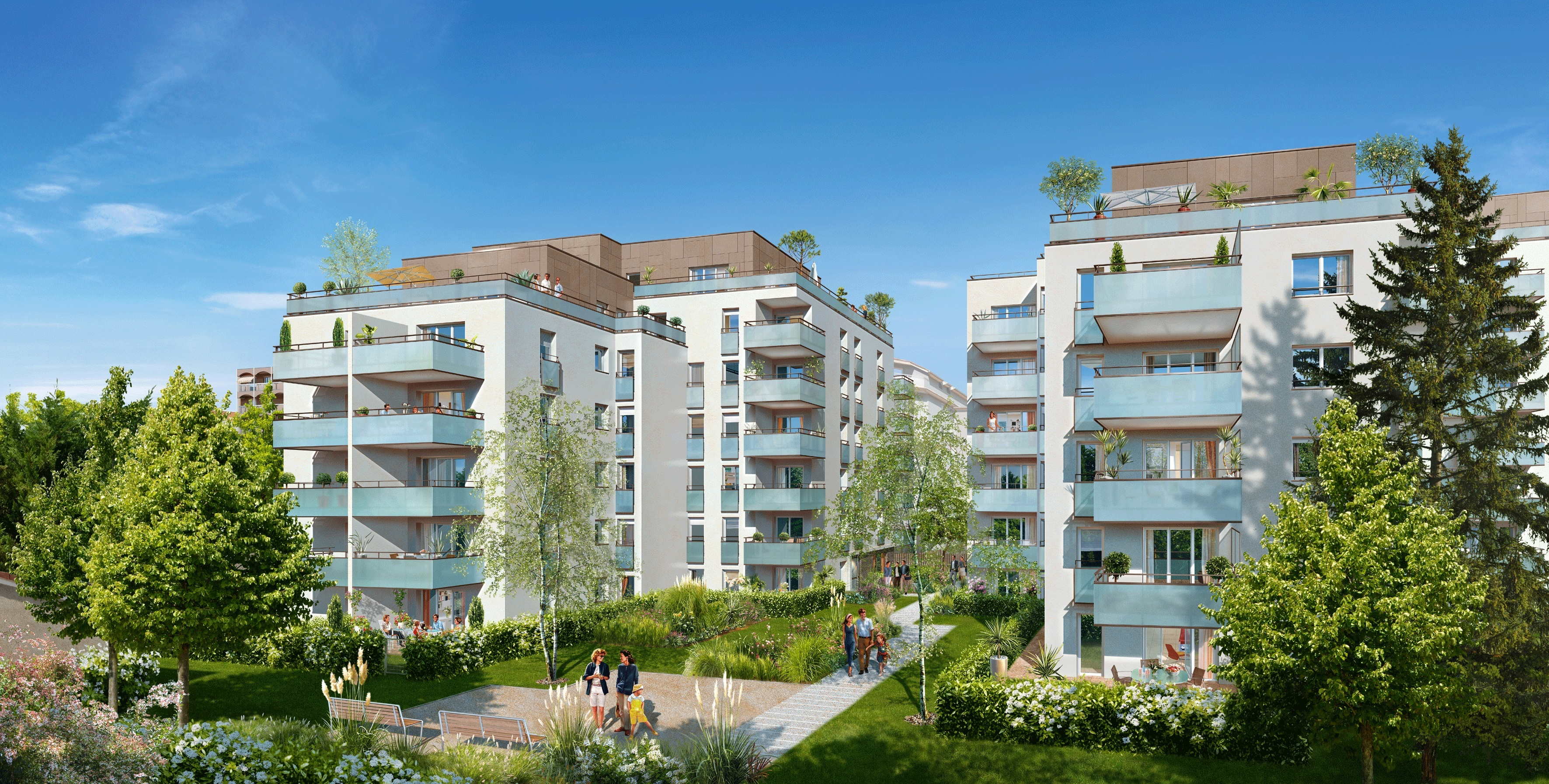 Programme immobilier l 39 agora villeurbanne for Aide achat immobilier neuf