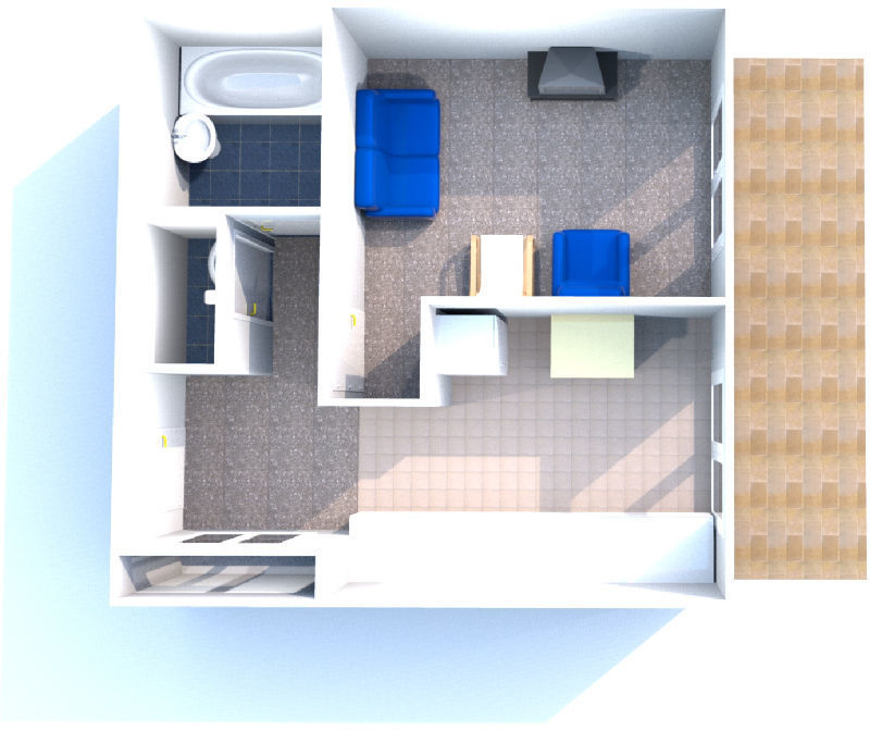Appartement 1pièce 36m² Cannes