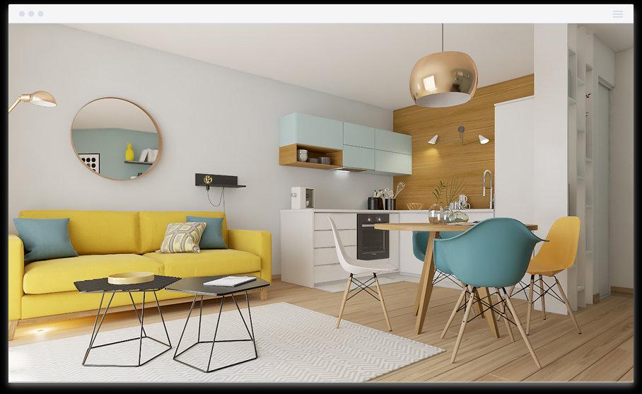 Appartement 2pièces 36m² Asnières-sur-Seine