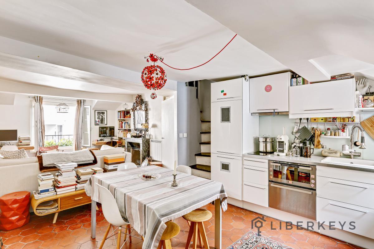 Appartement 2pièces 52m² à Paris 1er