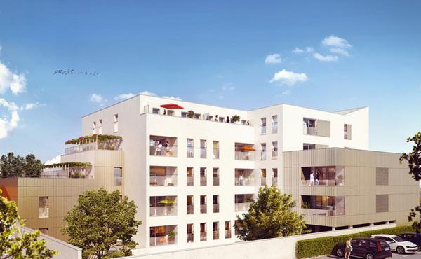 programme immobilier le verne nantes 41 biens neufs 144 000. Black Bedroom Furniture Sets. Home Design Ideas