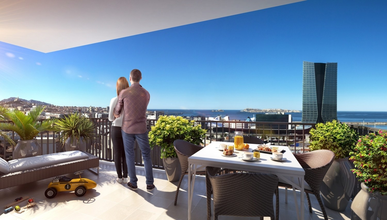 programme immobilier les docks libres 2 marseille 3e 55 biens neufs. Black Bedroom Furniture Sets. Home Design Ideas