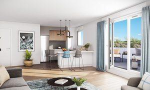 Appartement 2pièces 44m² Saint-Maur-des-Fossés