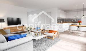 Appartement 3pièces 61m² Paris 13e