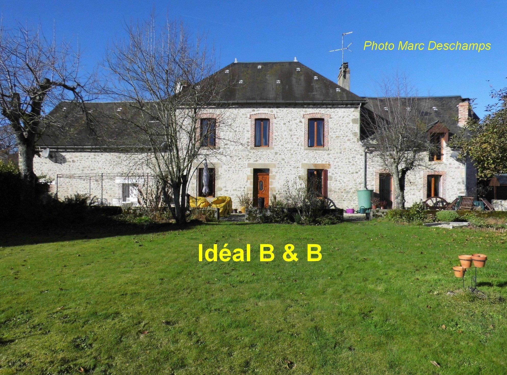 Maison 12pièces 295m² Mourioux-Vieilleville