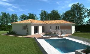 Maison neuve 4pièces 90m² Montendre