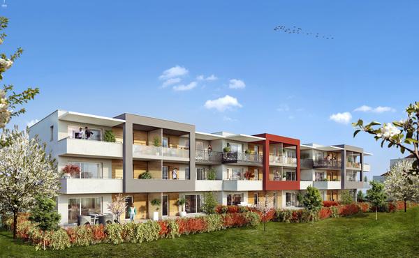 programme immobilier domaine des rubis thonon les bains 31 biens neufs 169 000 322 000. Black Bedroom Furniture Sets. Home Design Ideas