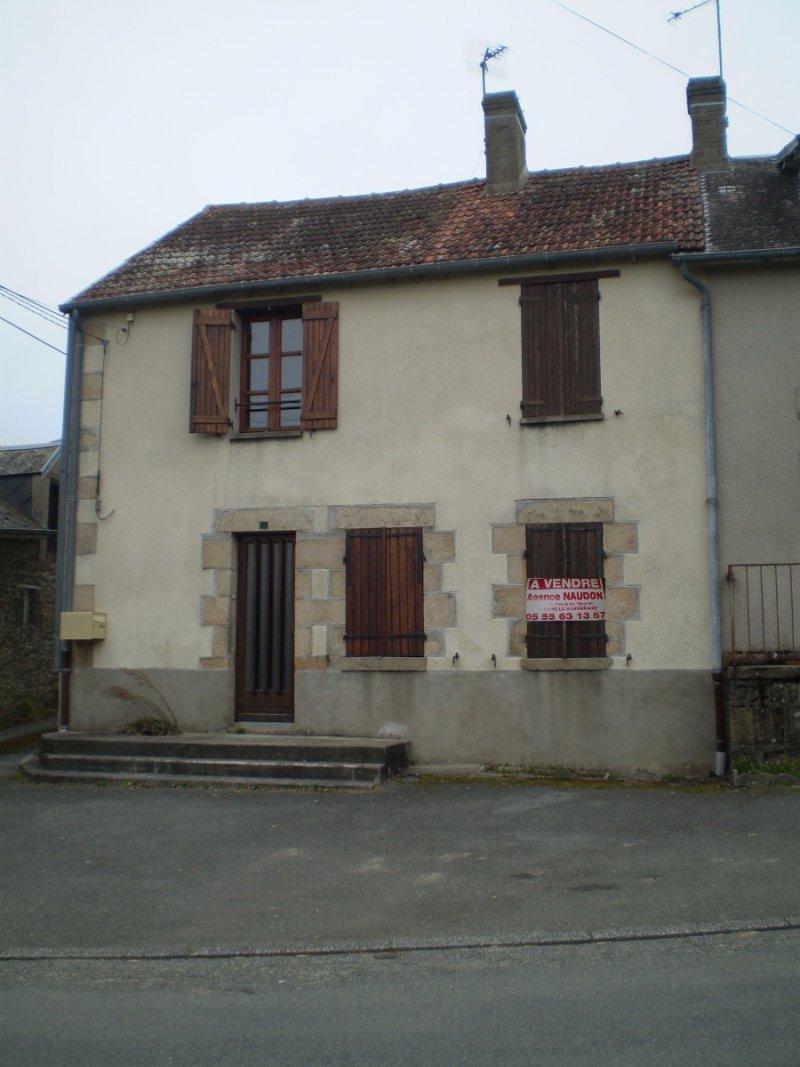 Maison 4pièces 62m² Bussière-Dunoise