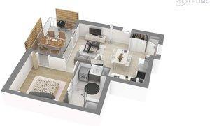Appartement 2pièces 40m² Schiltigheim