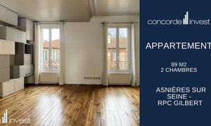 Appartement 3pièces 89m² Asnières-sur-Seine