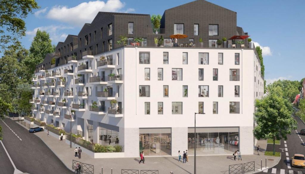 Appartement 5pièces 97m² à Villeneuve-la-Garenne