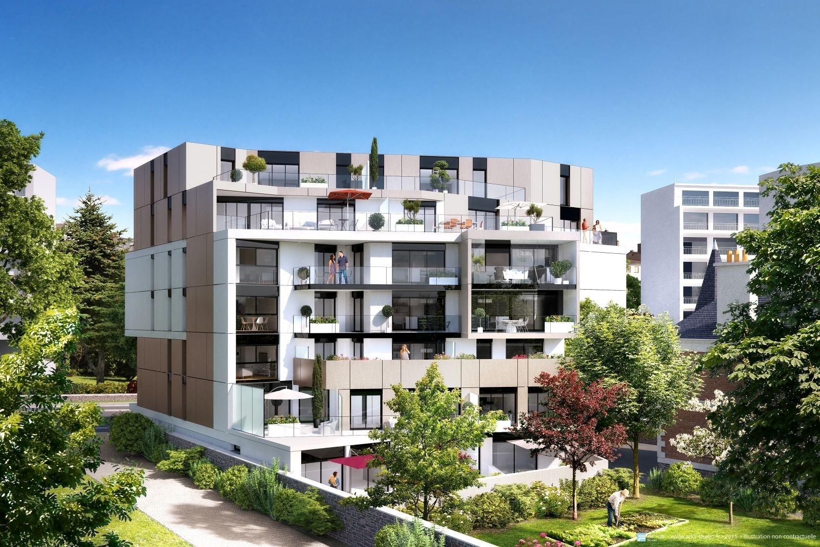 Programme immobilier le 84 thabor sevigne rennes 36 for Residence neuf