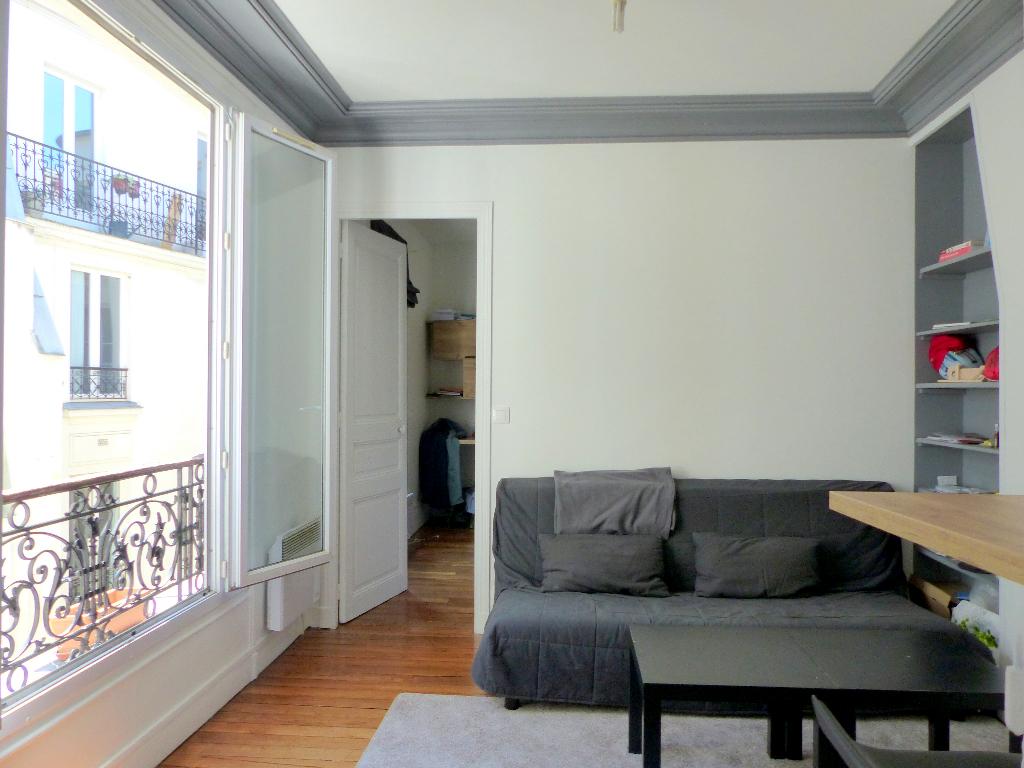 Appartement 2pièces 34m² à Paris 14e