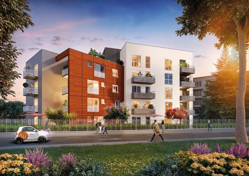 Appartement neuf 4pièces 84m² Tassin-la-Demi-Lune