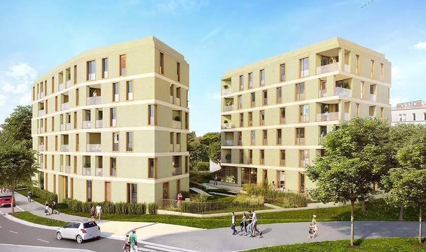 Programme Immobilier Parenthese A Massy 57 Biens Neufs A