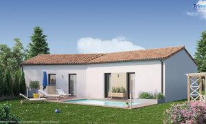 Maison neuve 5pièces 98m² Dangé-Saint-Romain