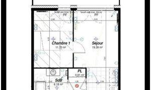 Appartement 2pièces 40m² Nancy
