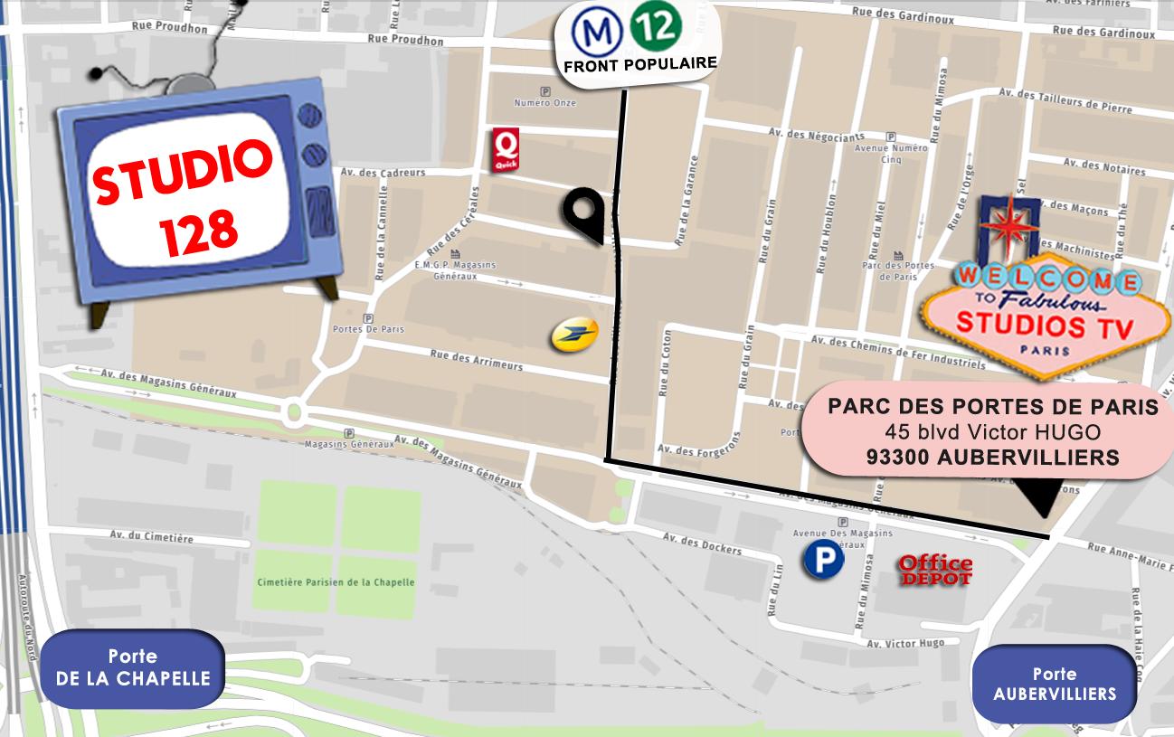 Studios de France – Bât 128