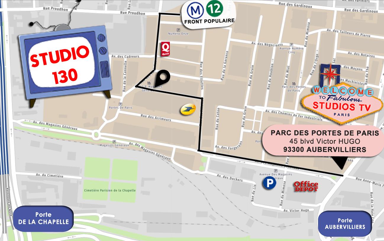 Studios de France – Bât 130 plateau 2