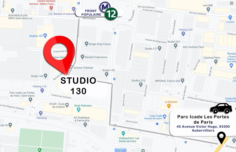 Studios de France – Bât 130