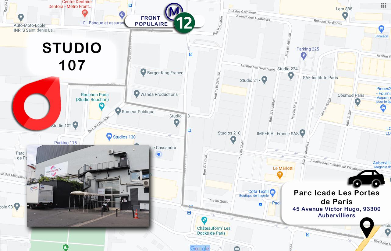Studios de France - Bât 107