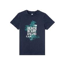 PEPPERTS® T-Shirt Jungen, aus Baumwolle, mit Print - Kinder Jungen Shirts & Hemden