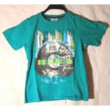 Topolino Kinder T-Shirt türkisgrün Größe 128