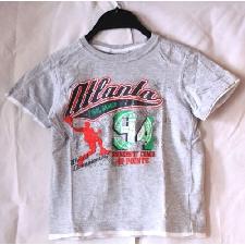 okay Basketball kurzärmliges Kinder Jungen T-Shirt Grau Größe 122