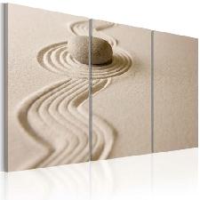 SPA ZEN SAND STEIN FENG SHUI Wandbilder xxl Bilder Vlies Leinwand 030215-2