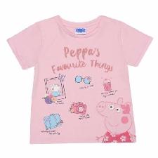 Peppa Pig - Favourite Things T-Shirt für Mädchen (PG1360)