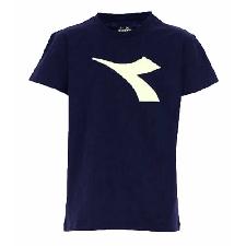 T-Shirt DIADORA Junge 025976 060 Baumwolle Blau Herbst Winter 2020