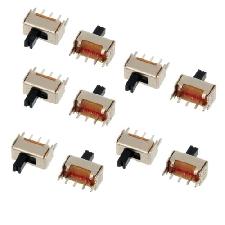 10PCS SS 12D07VG4 1P2T 4 mm PCB Panel Vertikaler Netzschalter