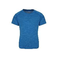 Plain Field Jungen T-Shirt - Blau